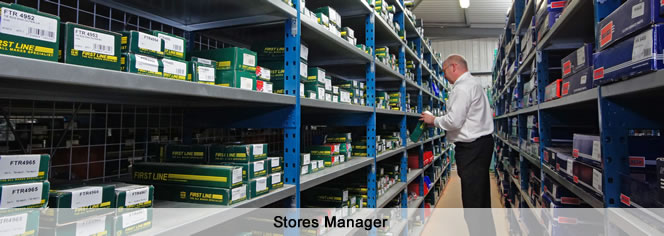 Stores Manager